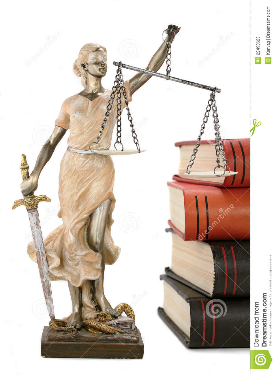 Justice Is Blind Or Maybe Not Stock Image Image