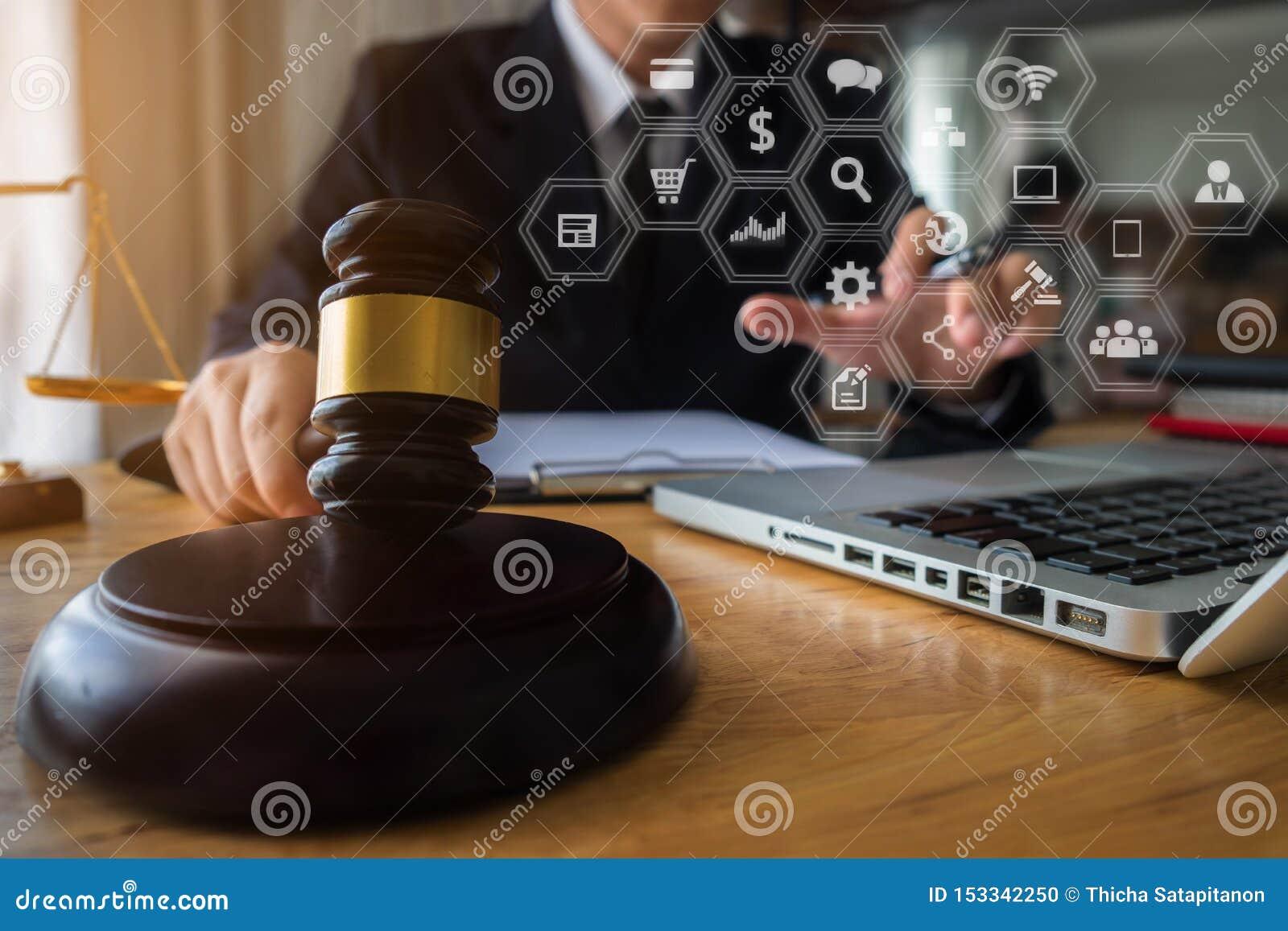Justice et concept de loi