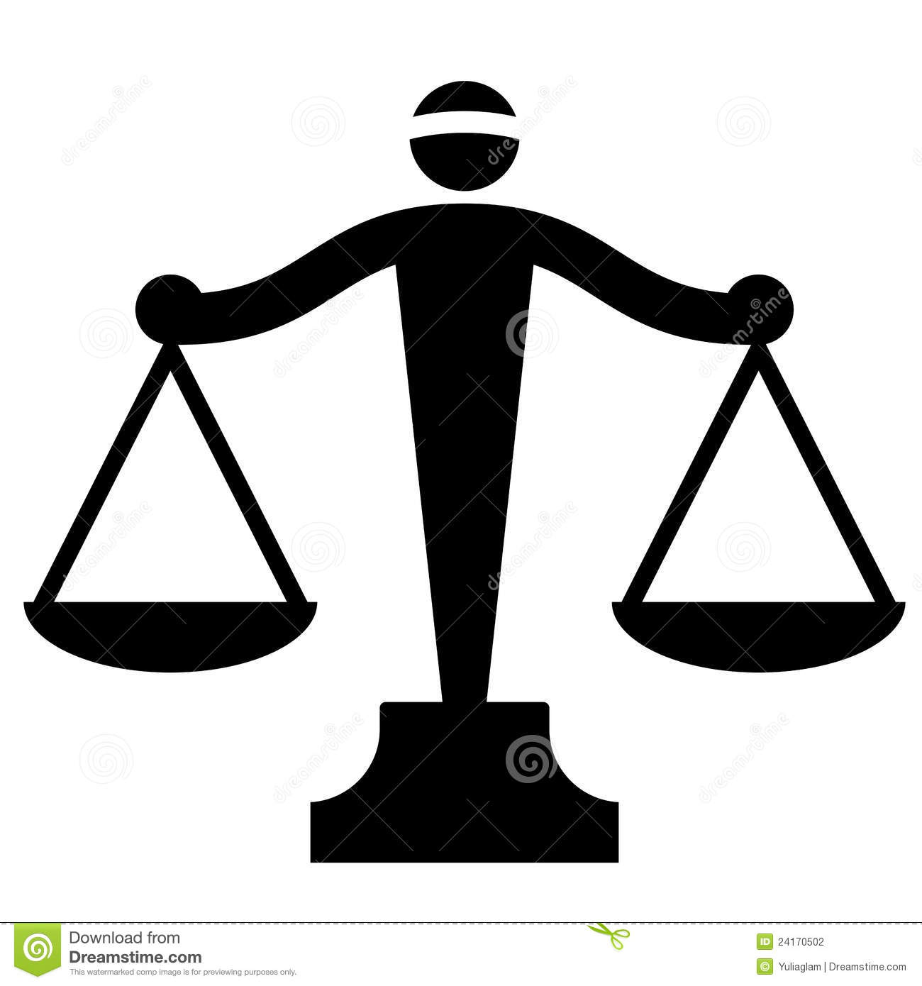 justice scales stock photography image 24170502 Graphic Scales of Justice Lady Justice Scales Clip Art
