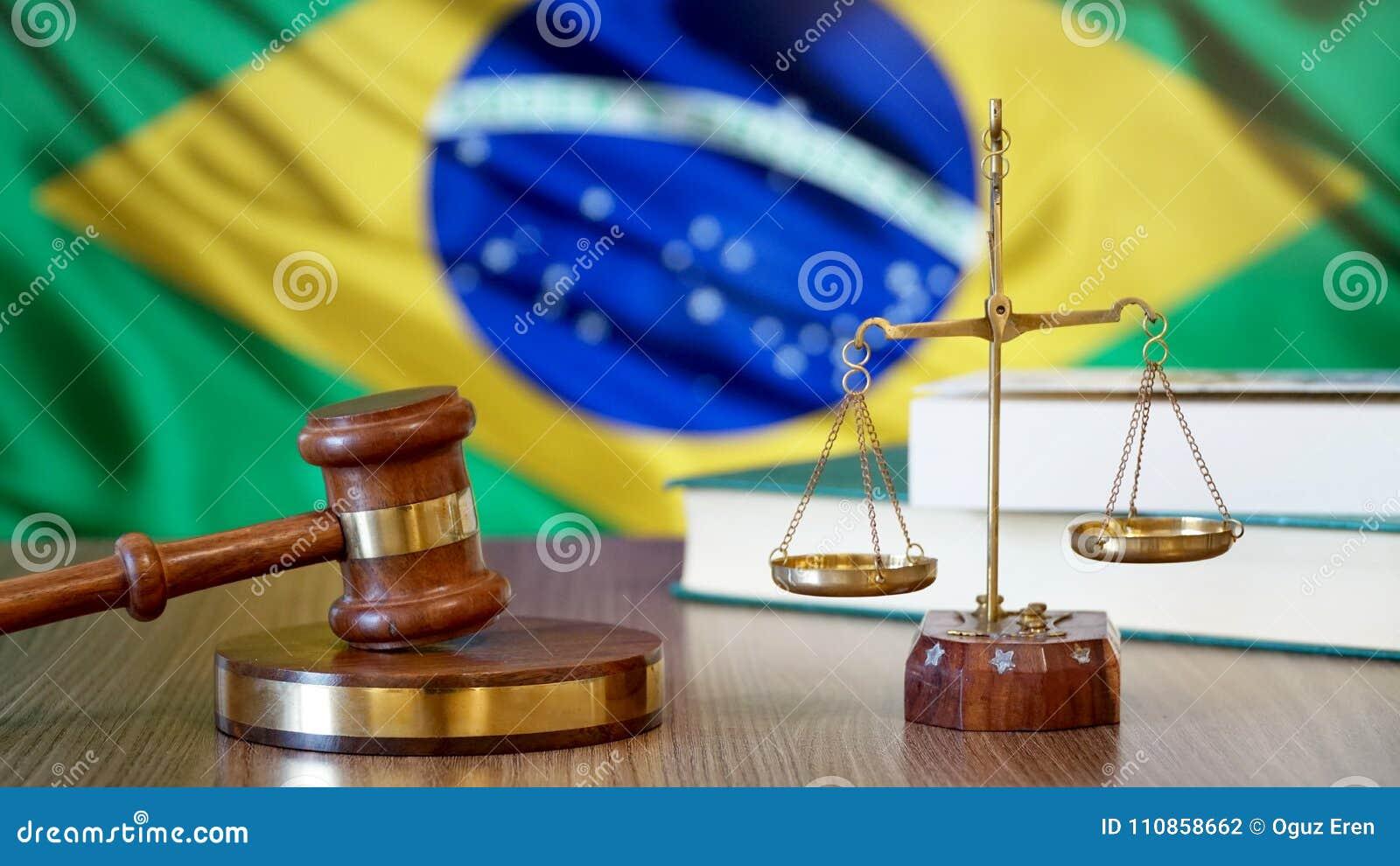Justicia para las leyes del Brasil en corte brasileña
