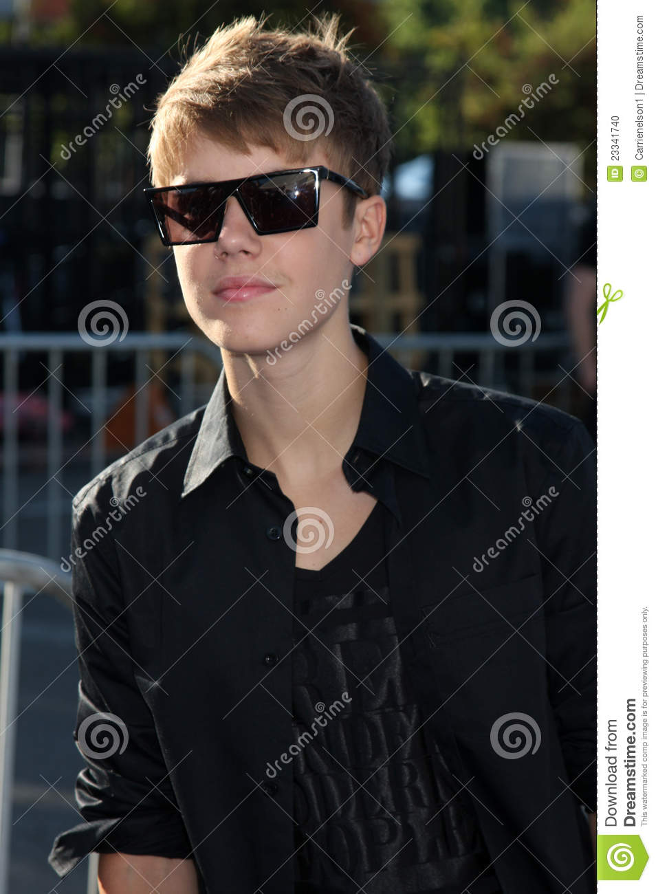 Justin Bieber Editorial Image Image Of Arriving August 23341740
