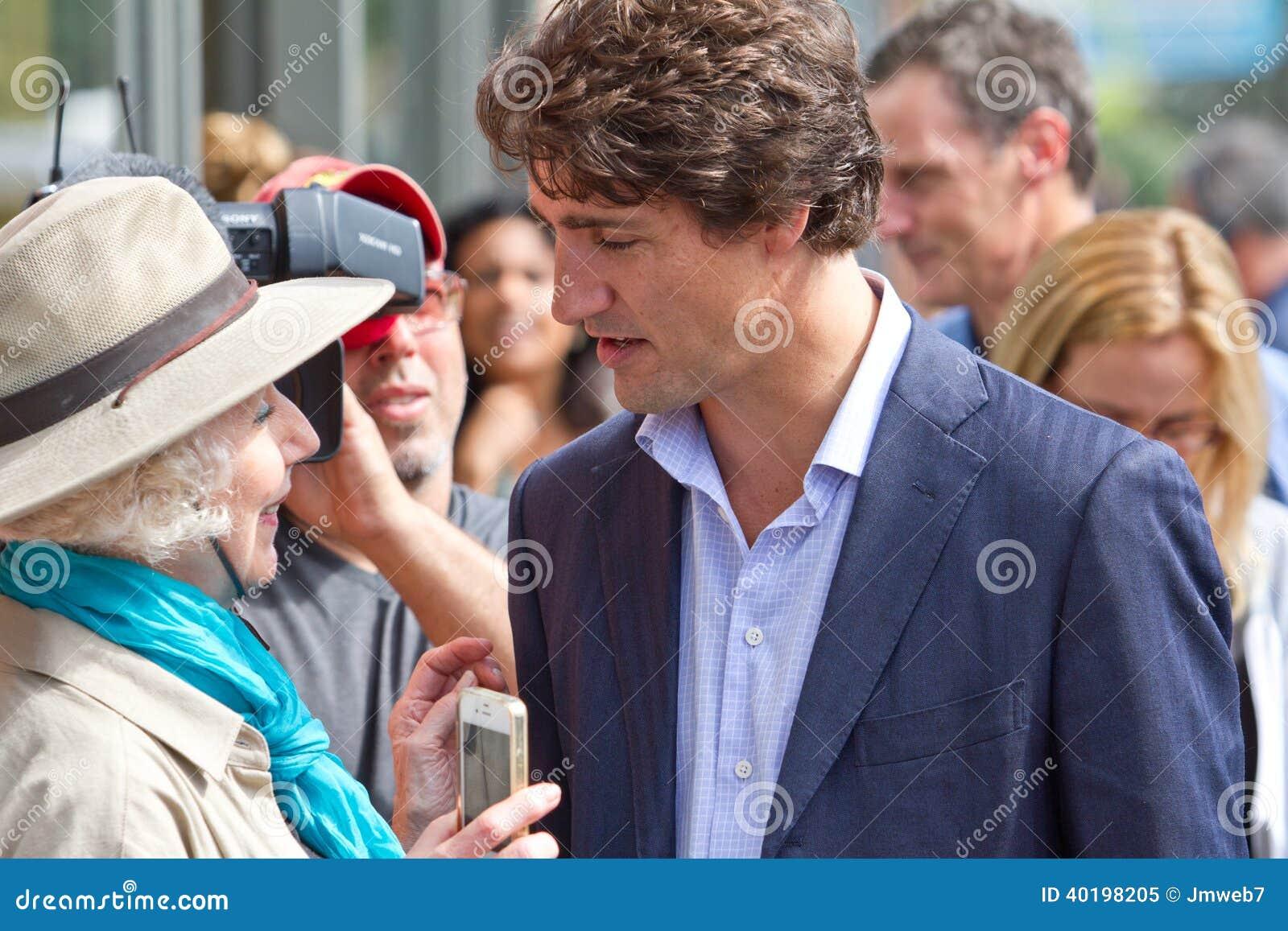 Justin Trudeau Scrum
