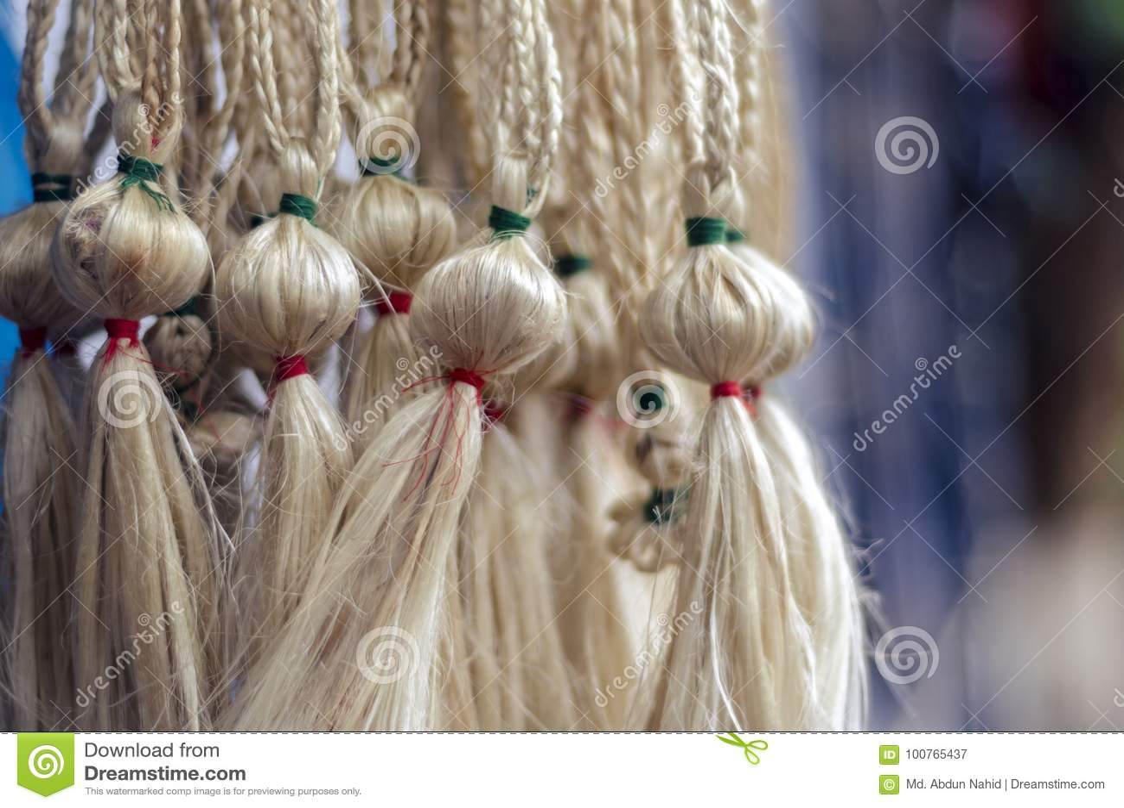 Jute Craft Stock Image Image Of Bangladesh Beauty 100765437