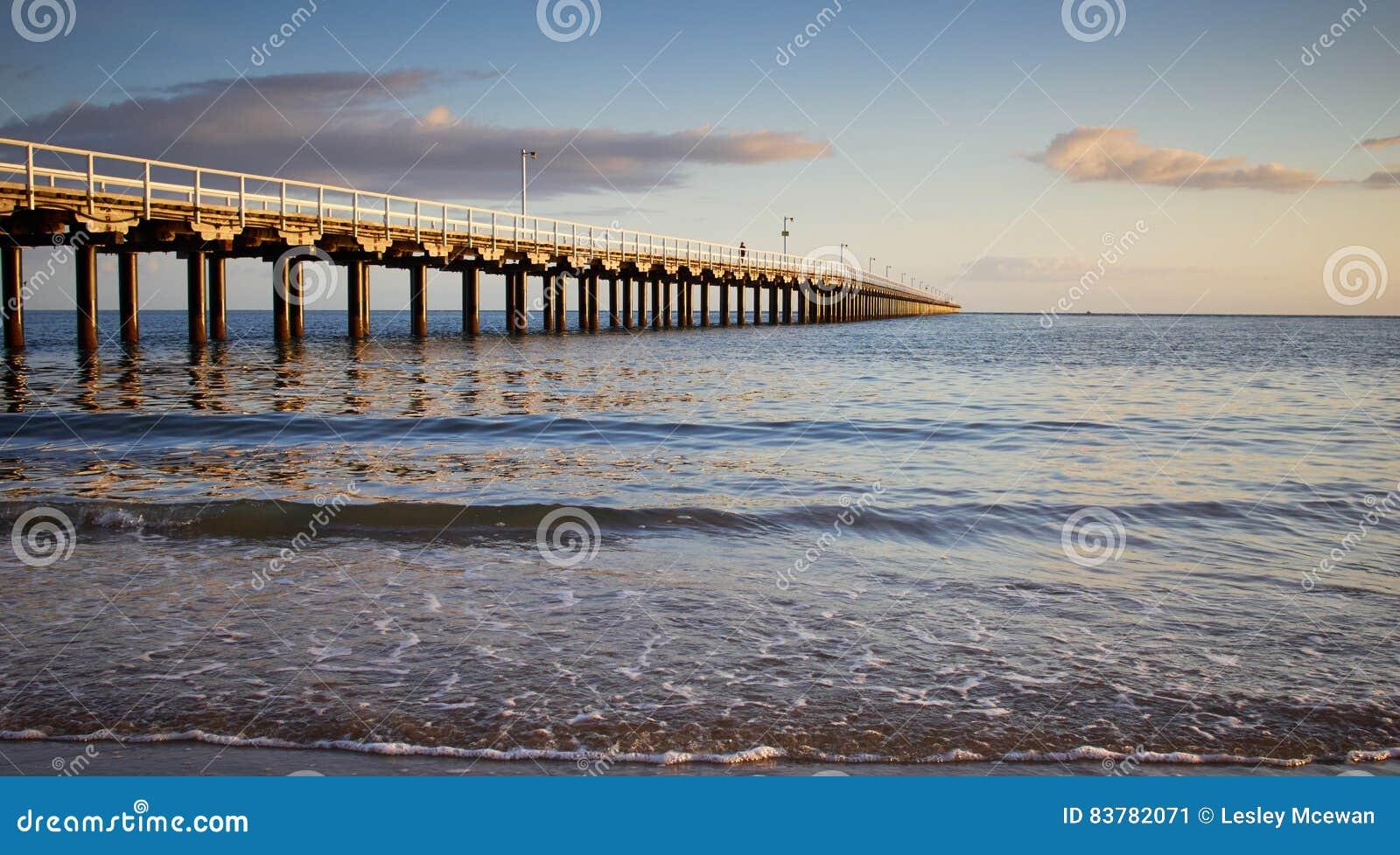 Jutrzenkowy Hervey zatoki Jetty Australia