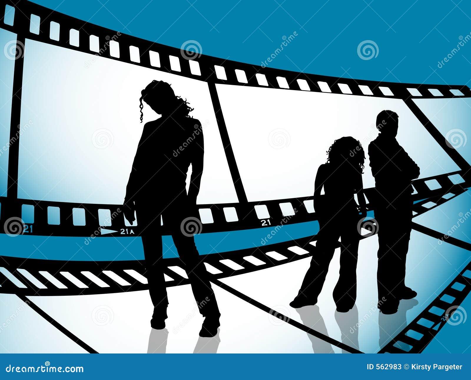 Juventud de la tira de la película