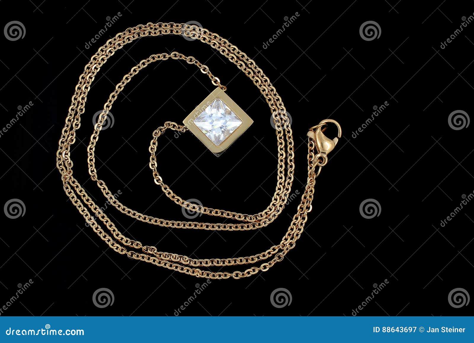 Juwel - Luxushalskette für Frauen