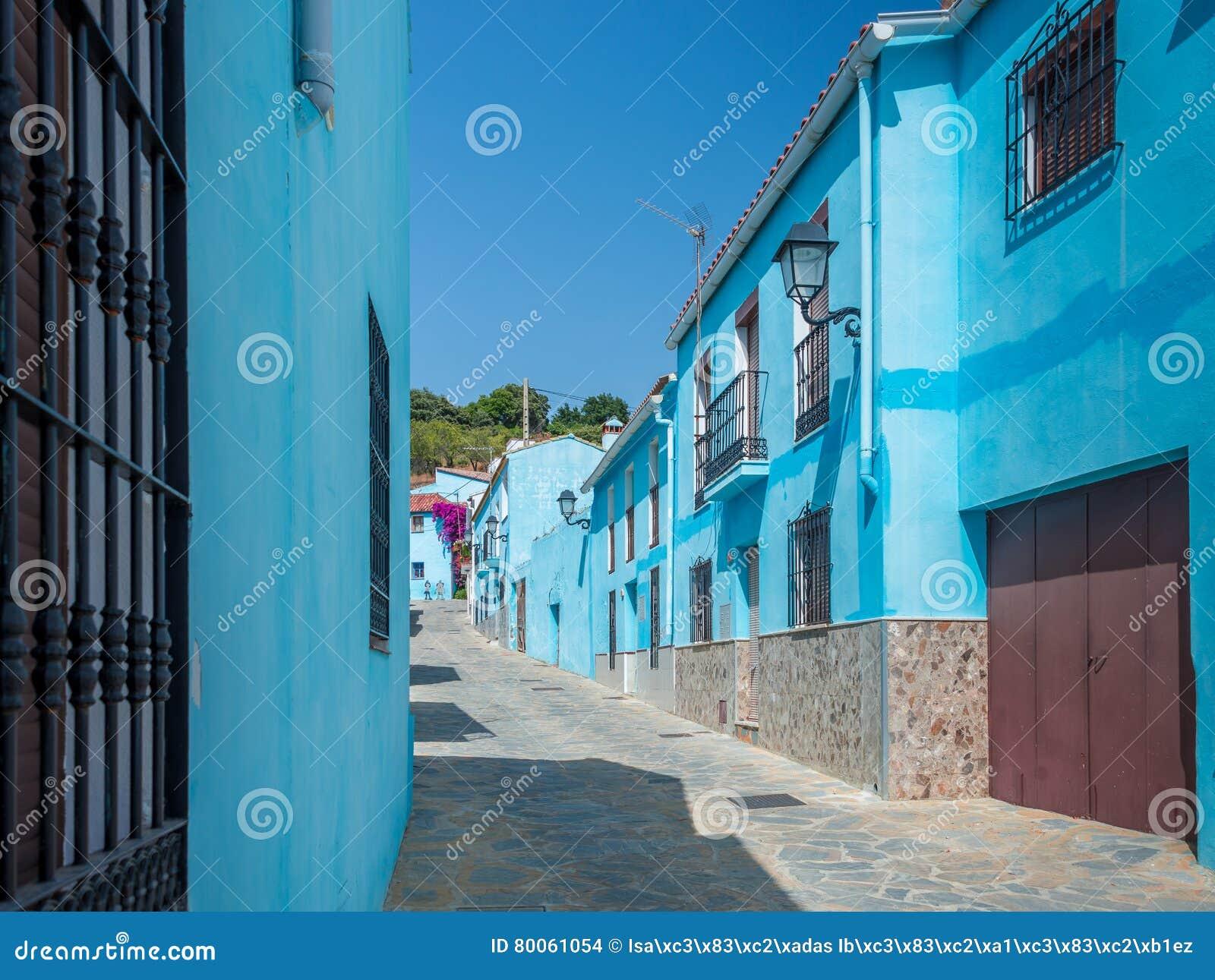 Juzcar das Smurf-Dorf