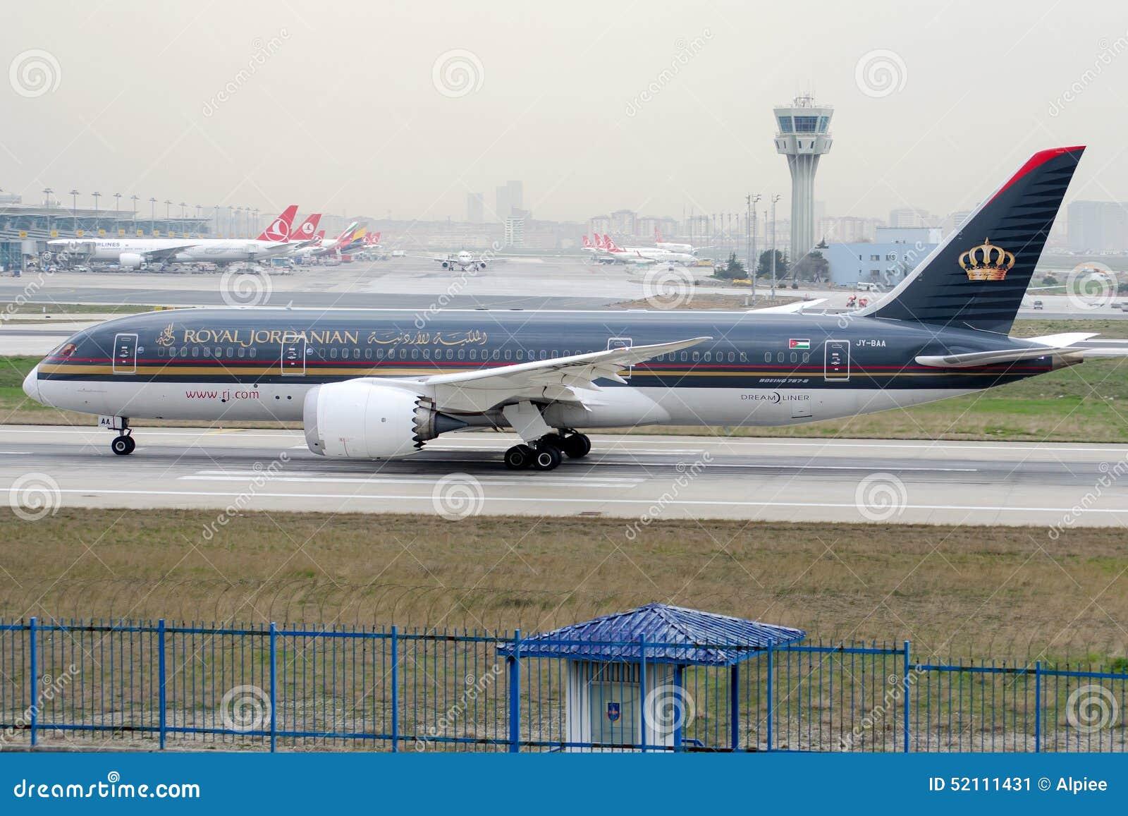 JY-BAA Royal Jordanian Airlines, Боинг 787-8 Dreamliner