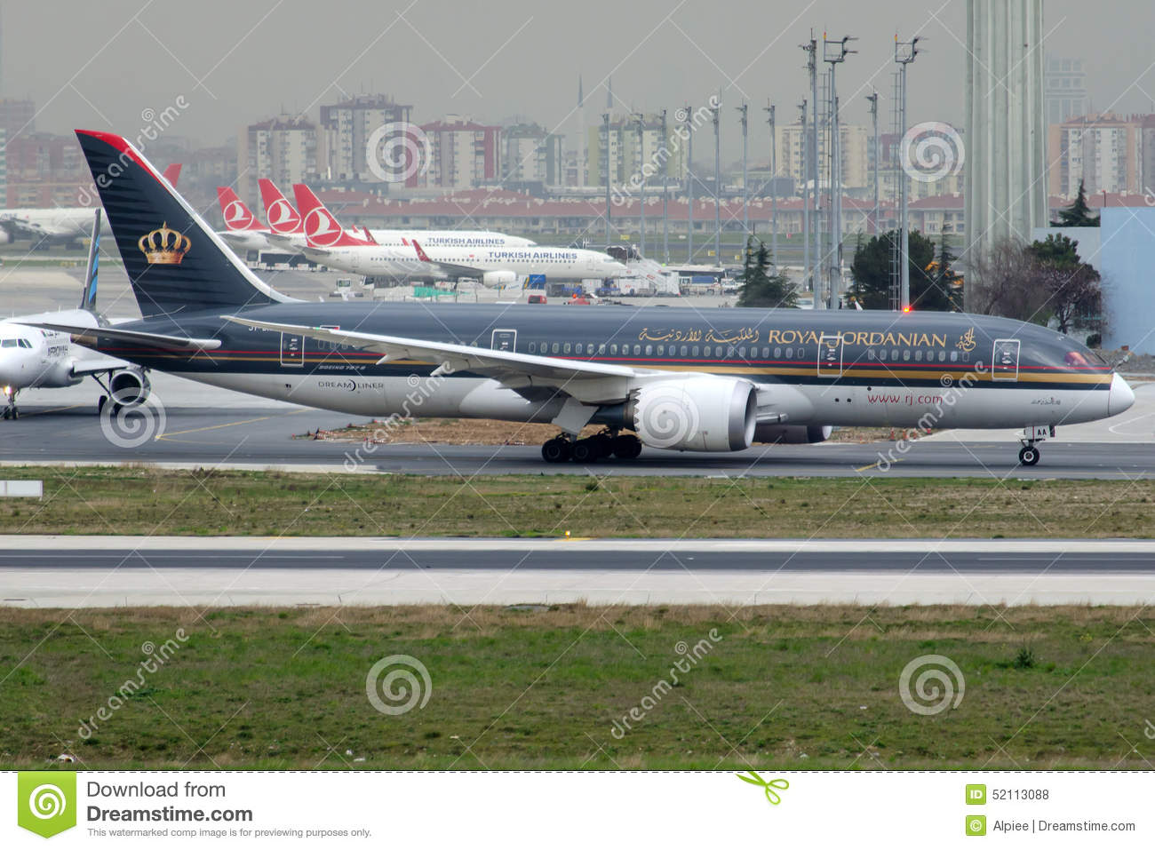 JY-BAA Royal Jordanian Airlines, Боинг 787-8 Dreamliner