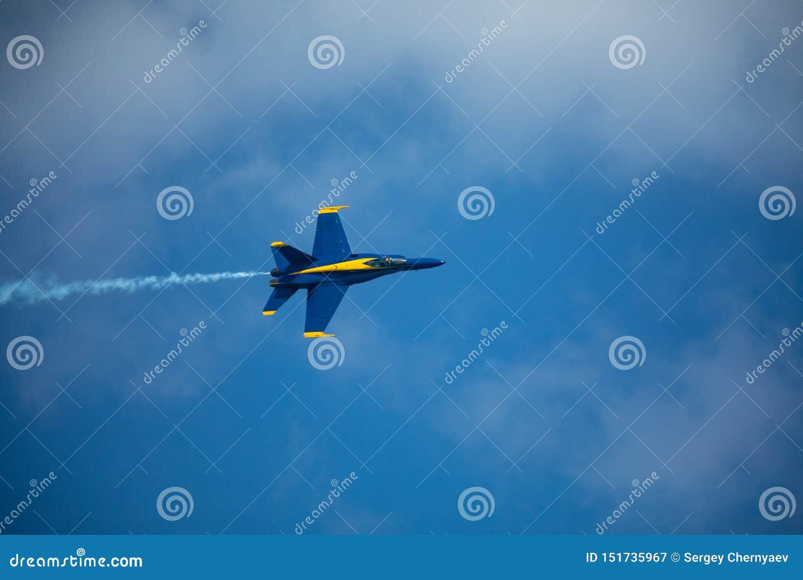Kämpar för blåa änglar USA