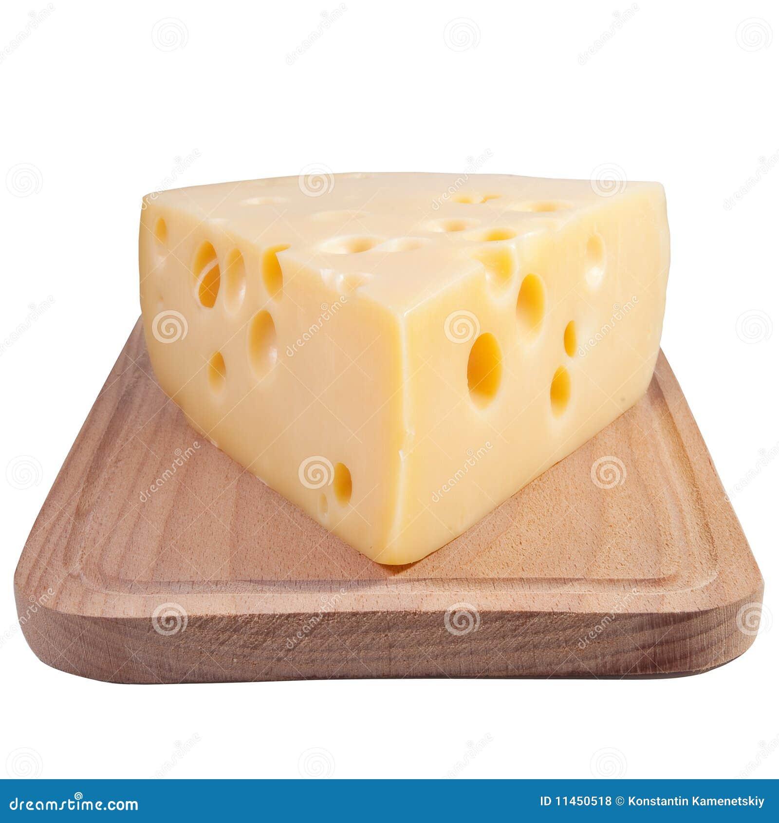 Käse auf einem grunge hölzernen Vorstand