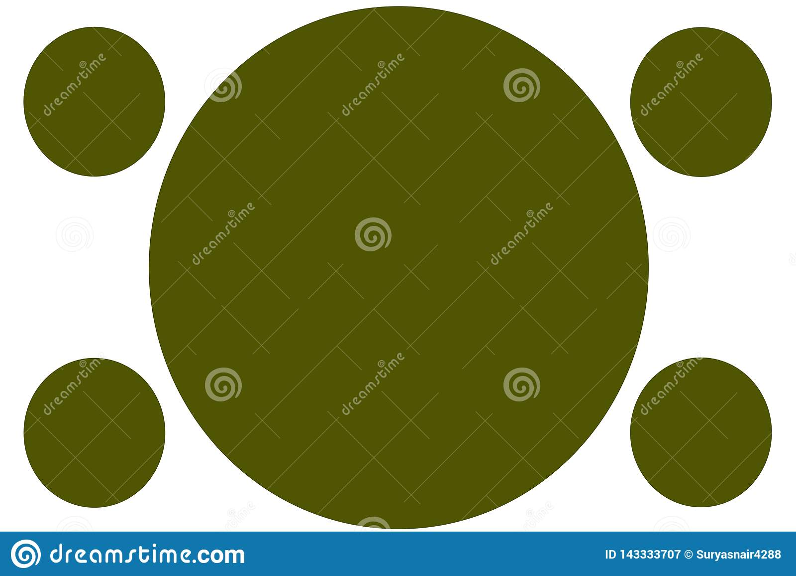 Kółkowi Barwioni sztandary - zieleń okręgi Może używać dla Ilustracyjnego zamierza, tło, strona internetowa, biznesy, prezentacje