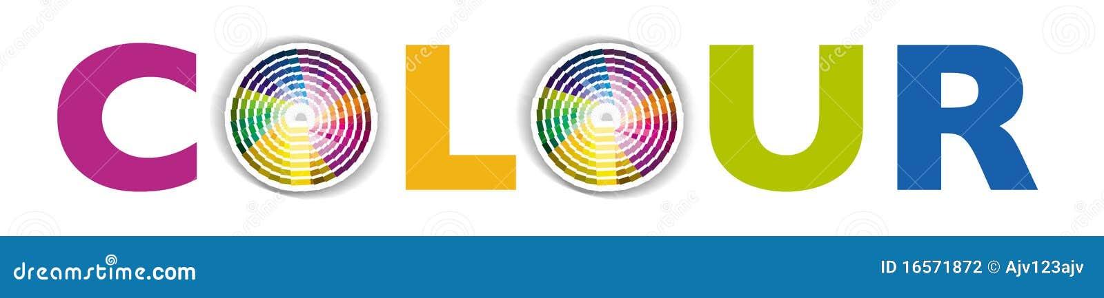 Kółkowy koloru colour swatch