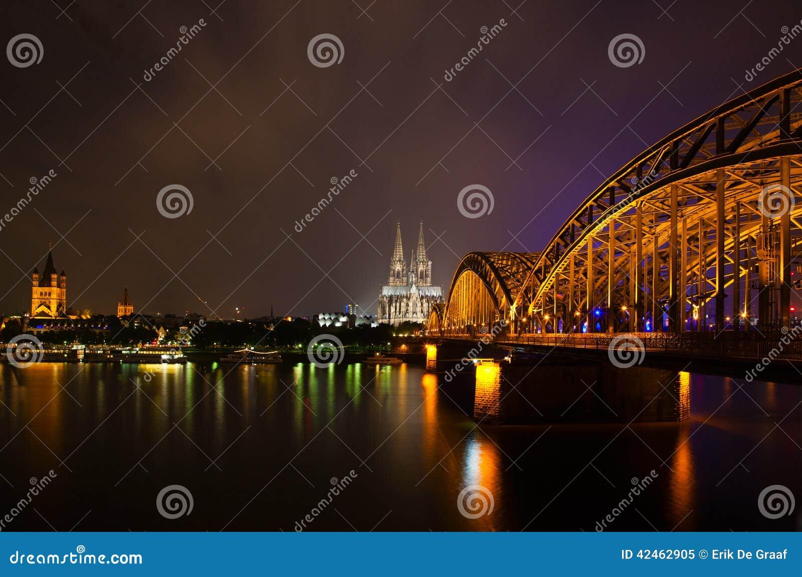 Köln nachts