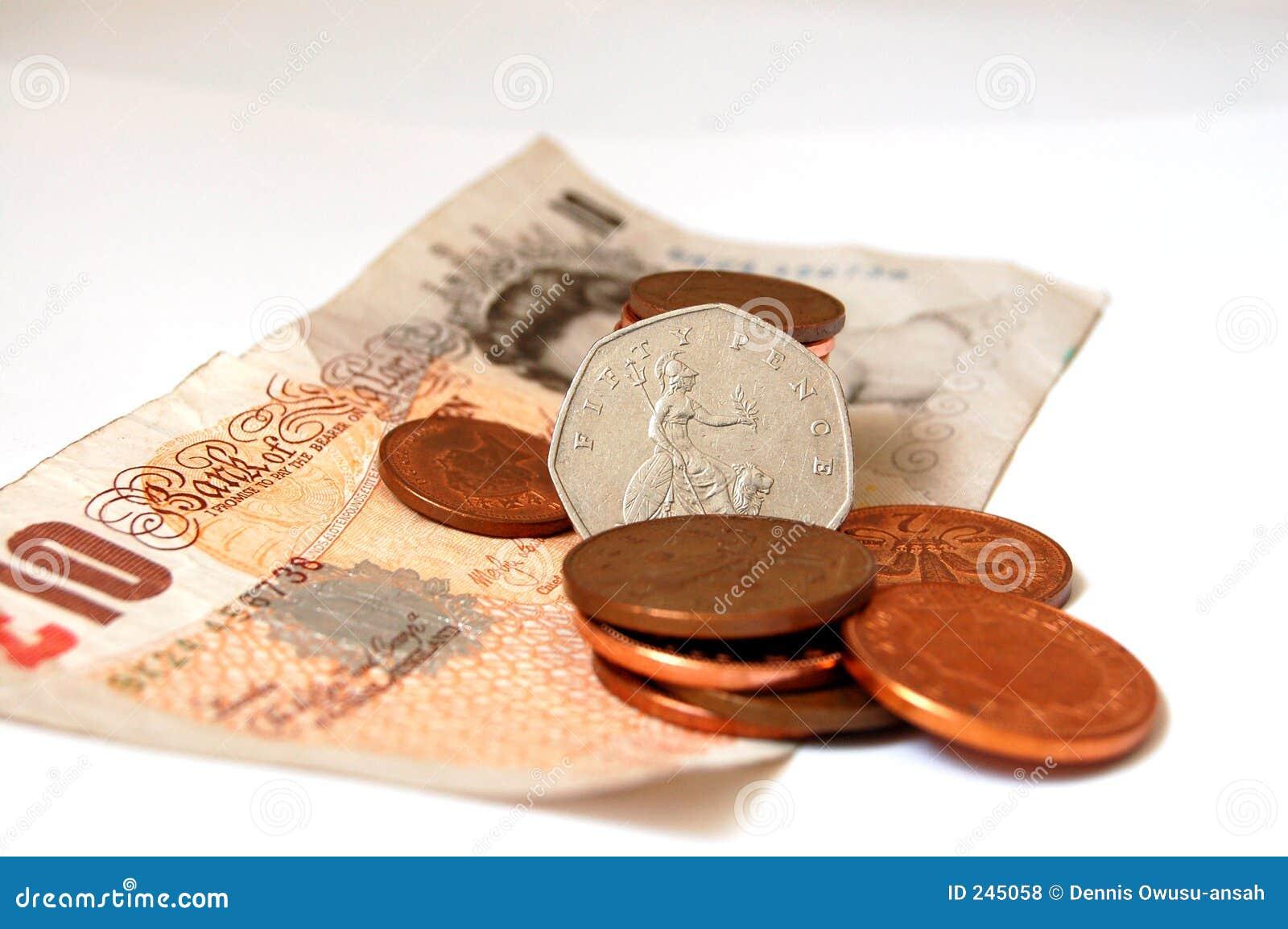 Königin Der Münzen Stockfoto Bild Von Splitter Pence 245058
