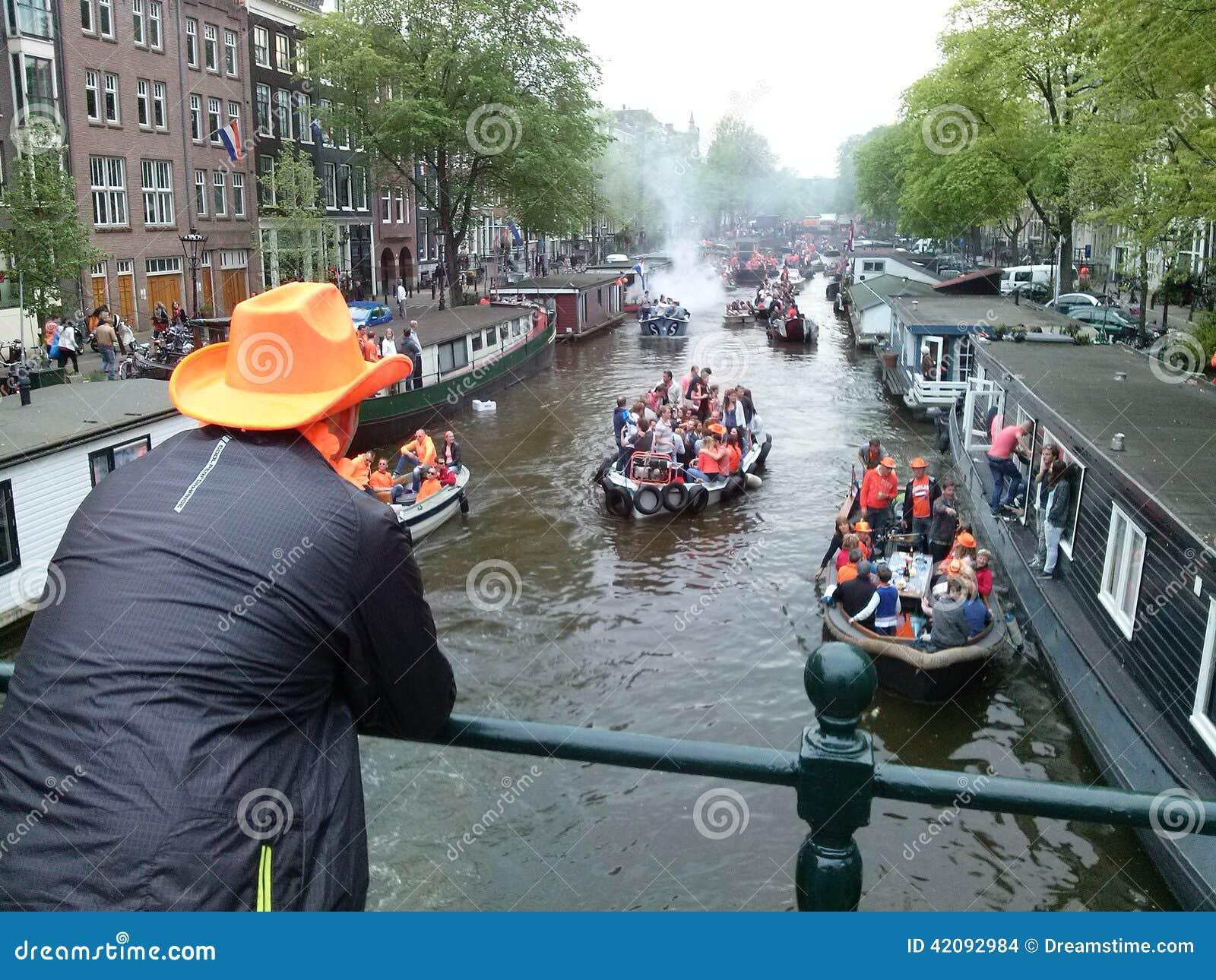 Königintag Amsterdam