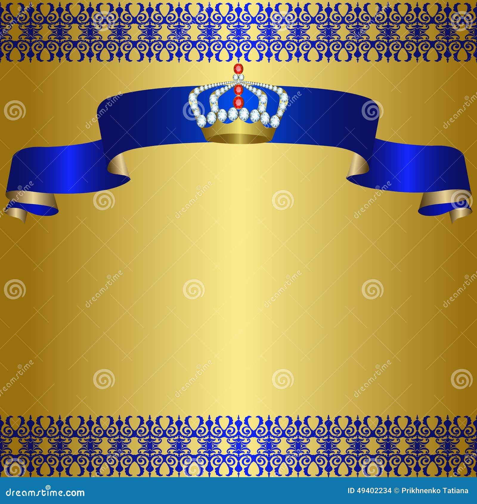 Download Königlicher Hintergrund vektor abbildung. Illustration von nett - 49402234