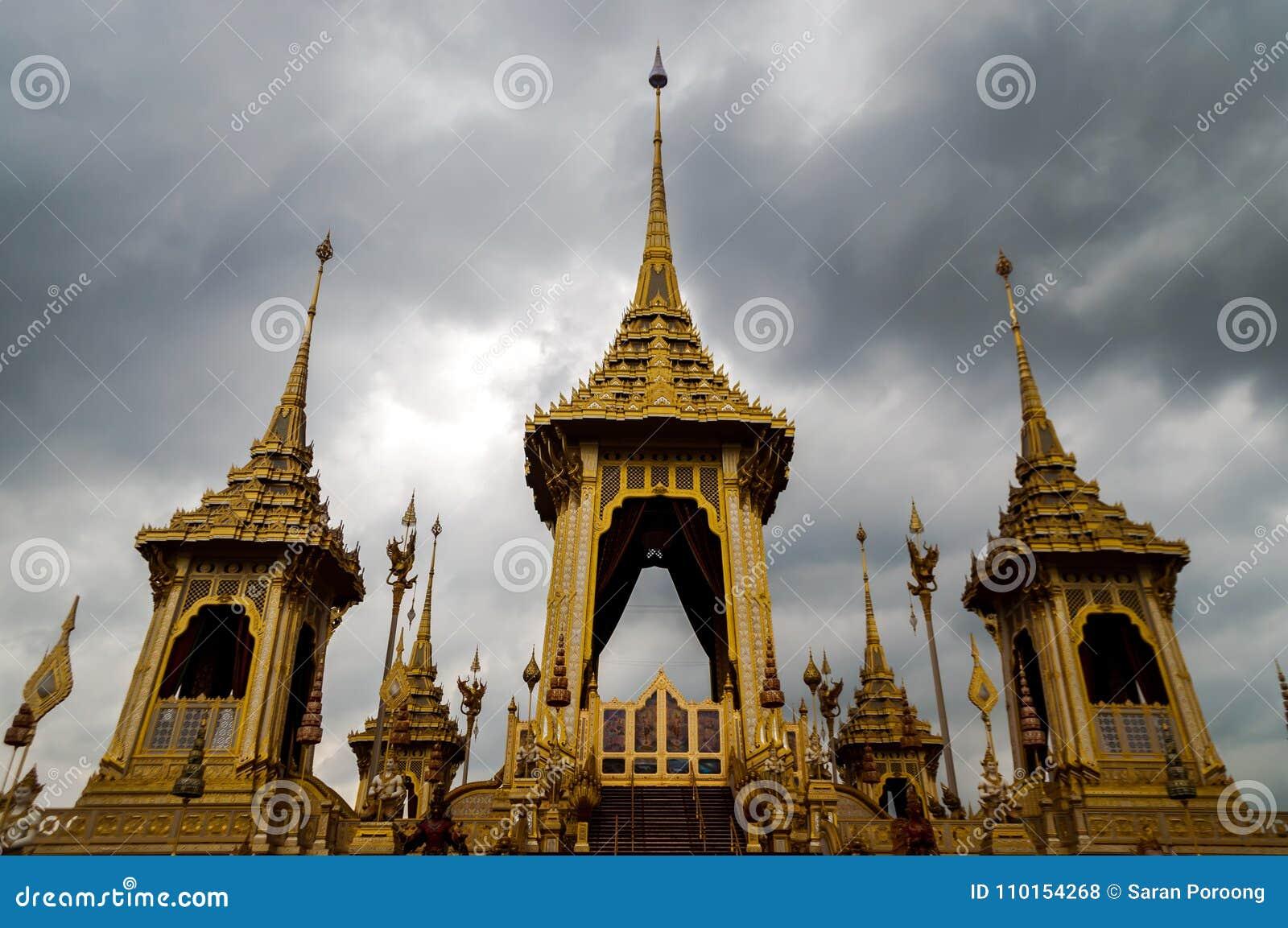 Königliches Krematorium von König Rama Nine von Thailand