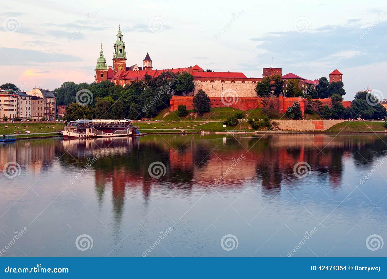 Königliches Schloss in Krakau - Wawel
