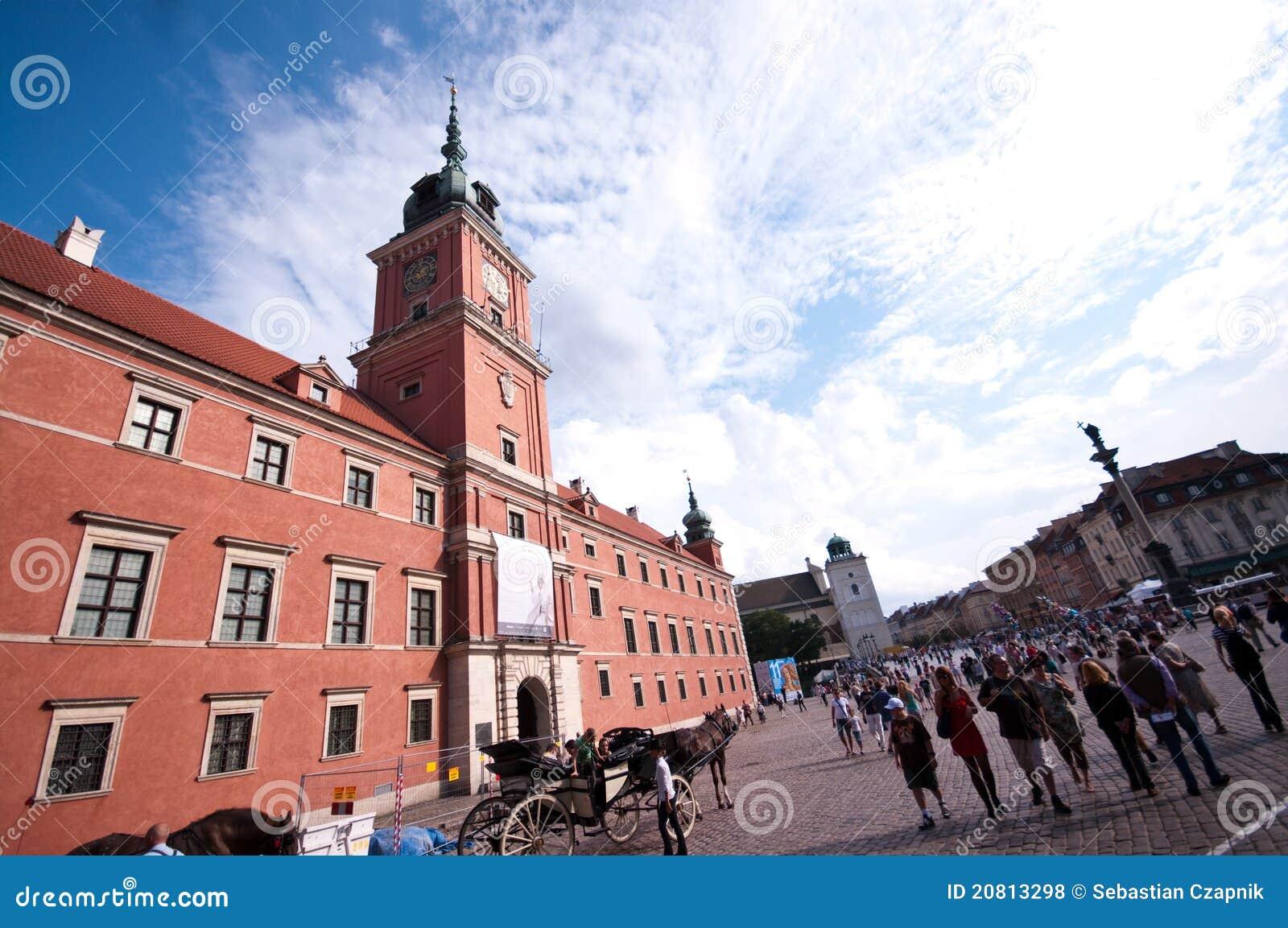 Königliches Schloss in Warschau