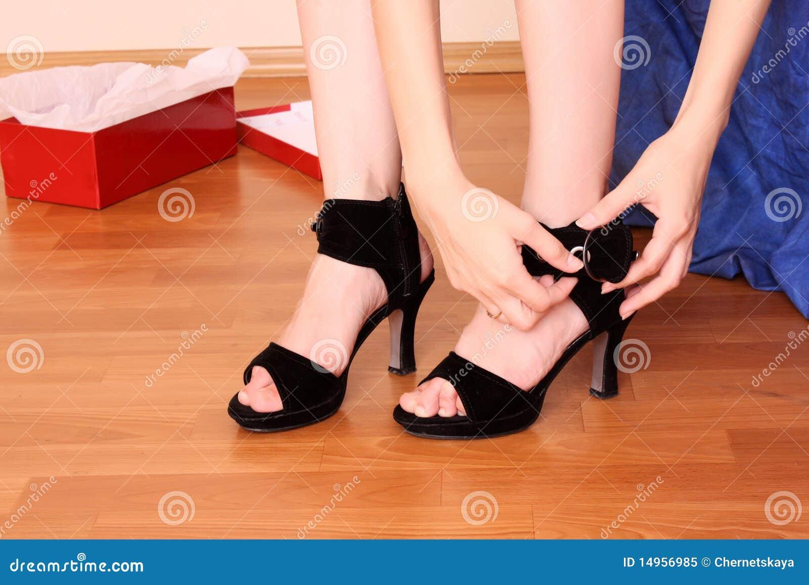 Köp den nya skokvinnan