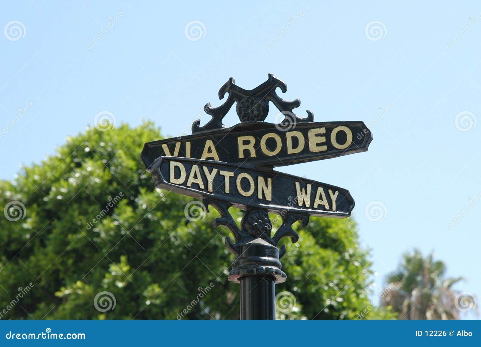 Kör rodeoen