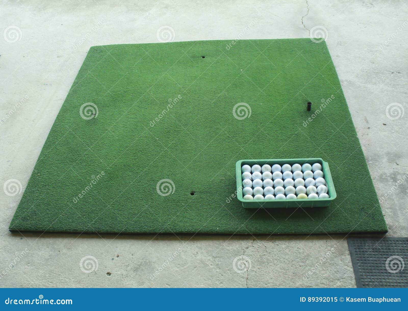 Körning av golfområde