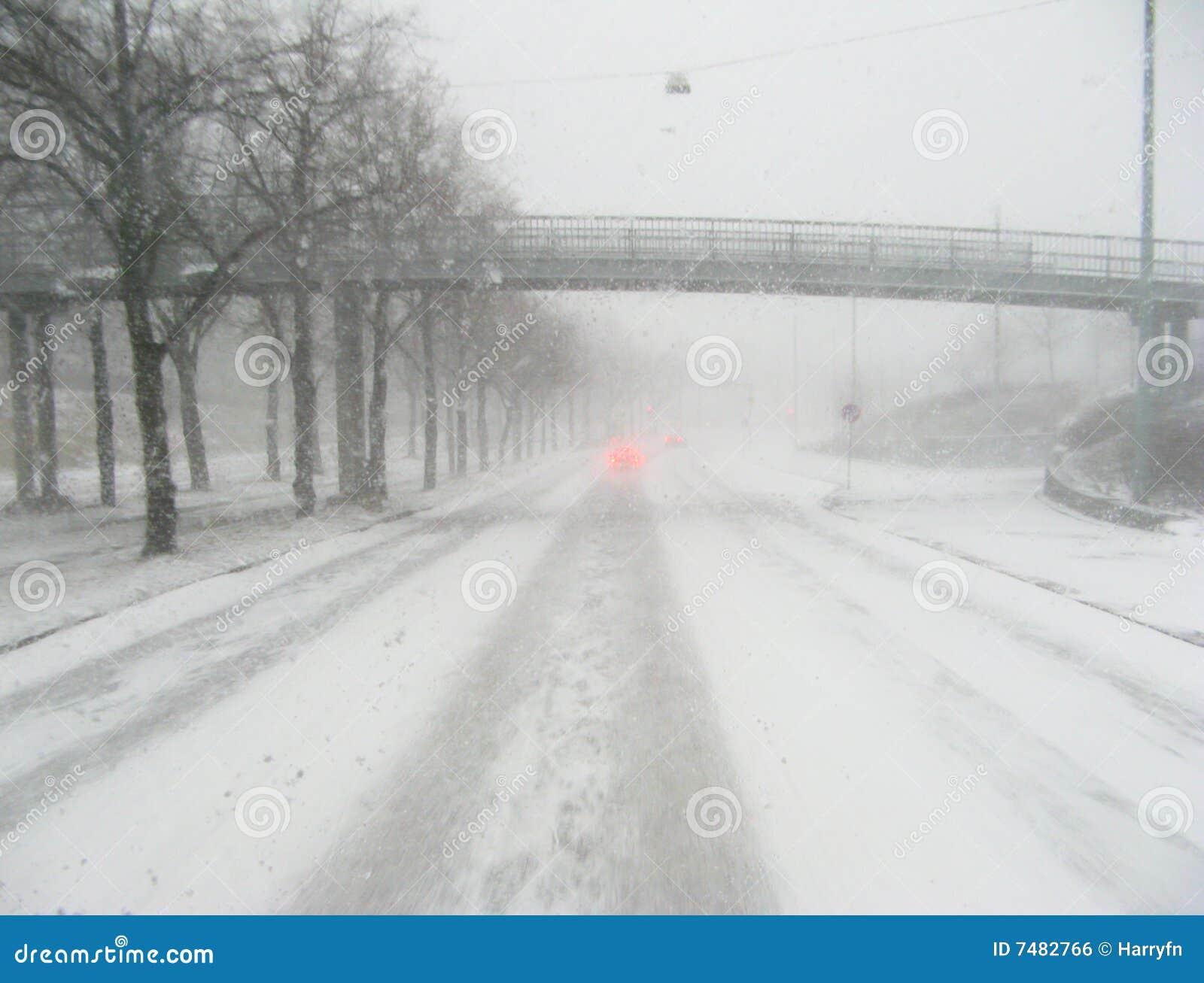 Körning av vinter