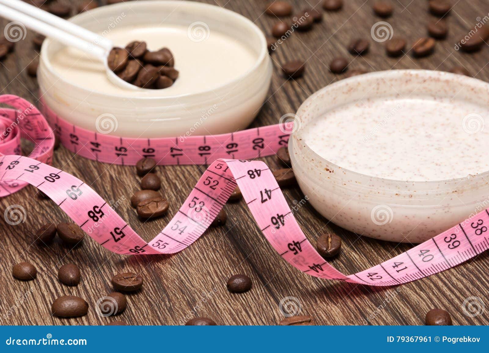 Körper messende Band- und AntiCellulitekosmetikprodukte