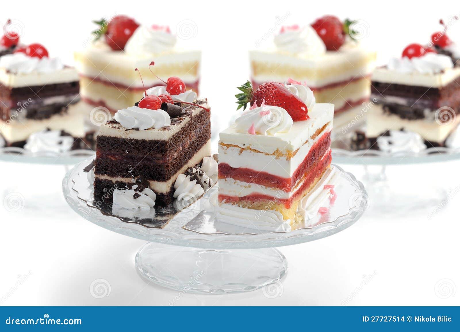 Köstliche Kuchen