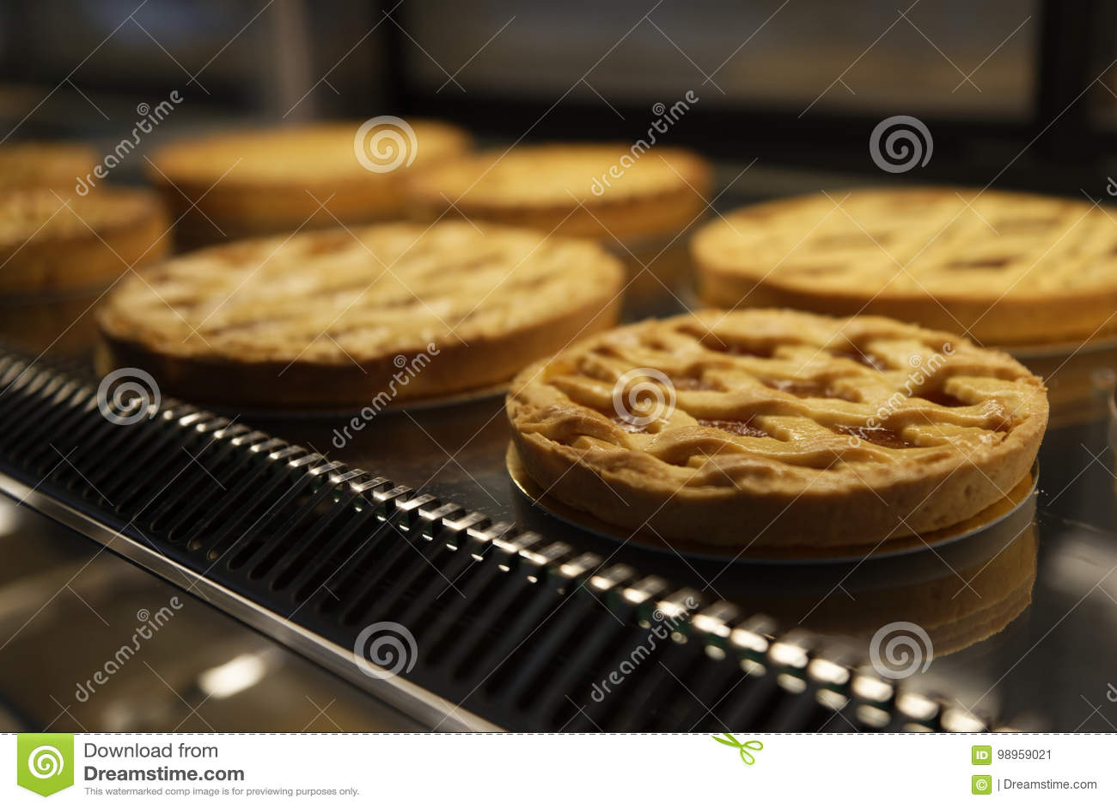 Kostliche Kuchen In Sussigkeiten Stockbild Bild Von Nachtisch