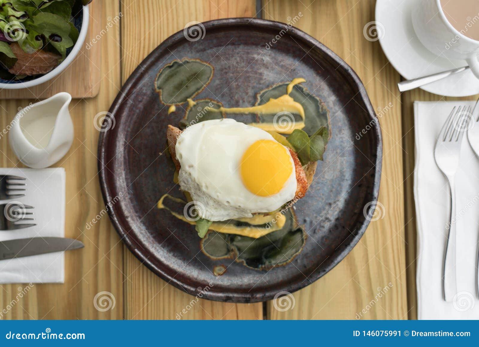 Köstliches Frühstück, wunderbarer Morgen