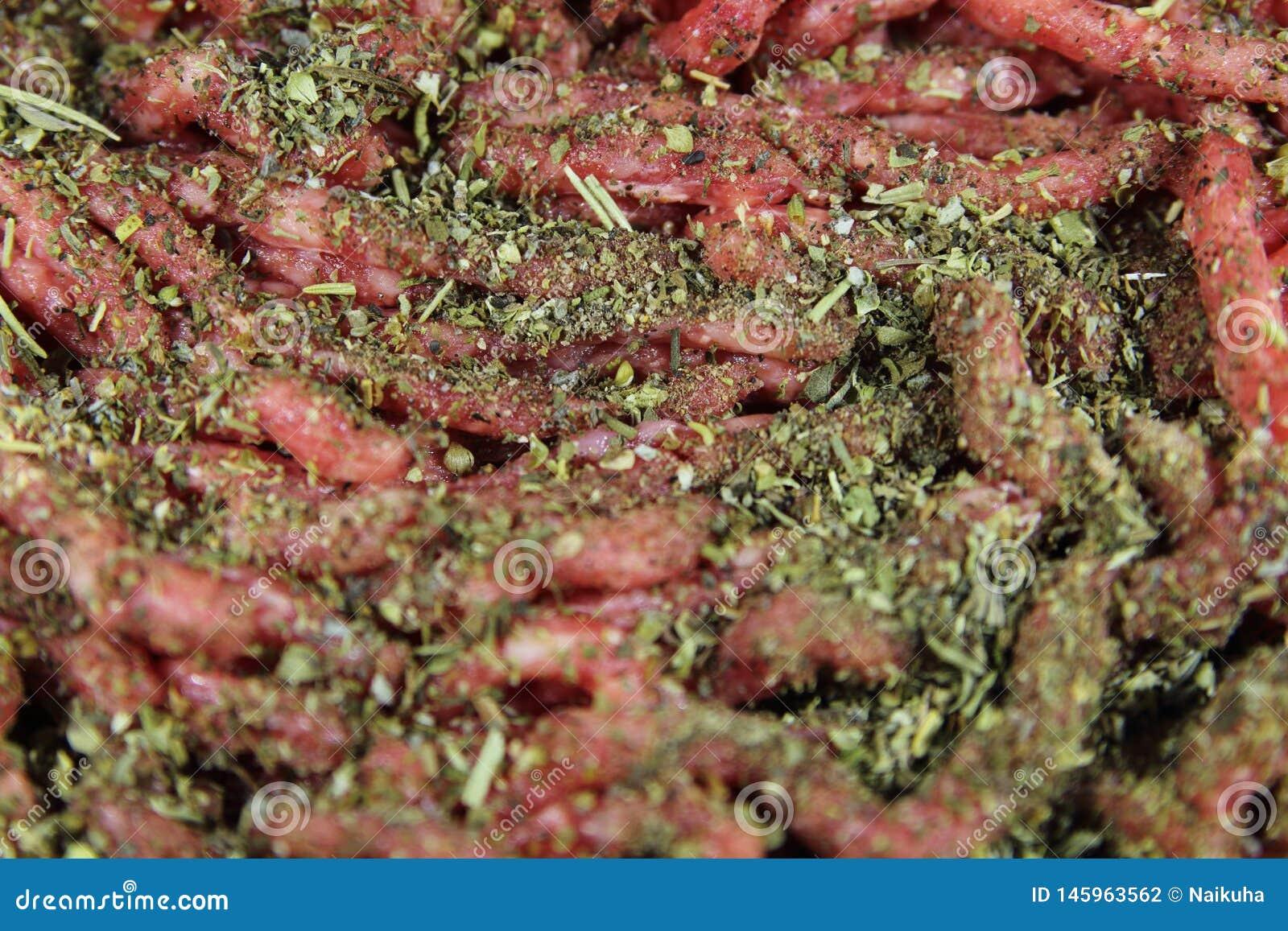 Köttfärs- och Provencal örter