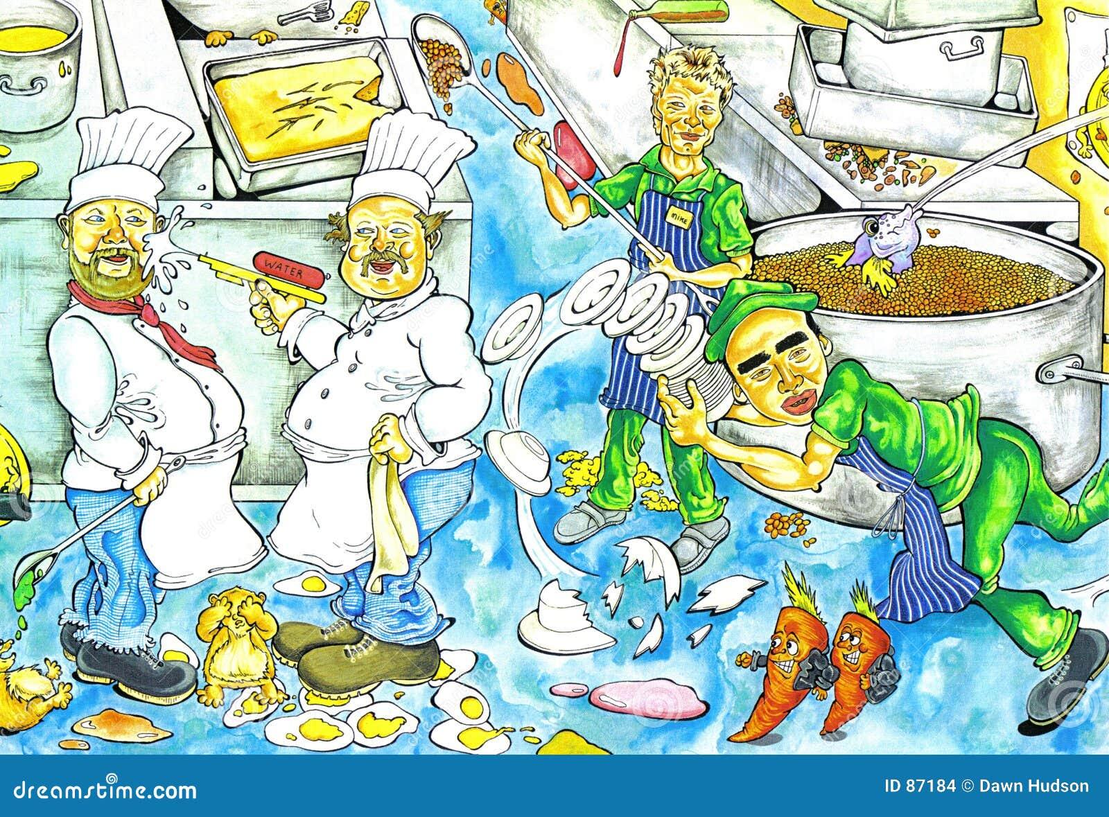 Chaos In Der Kuche Comic Arbeitsplatz Chaos Comic Daredevz In Der