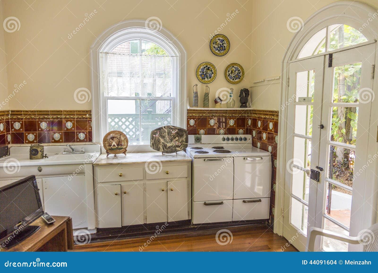 Küche in Ernest Hemingway Home und Museum in Key West