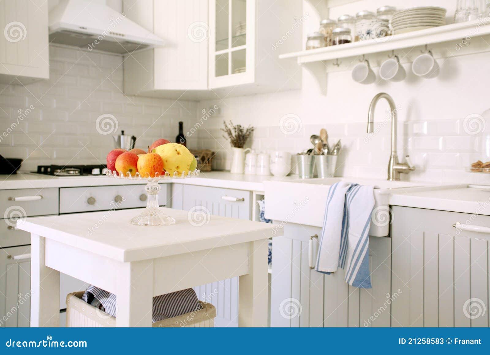 Küche mit Früchten