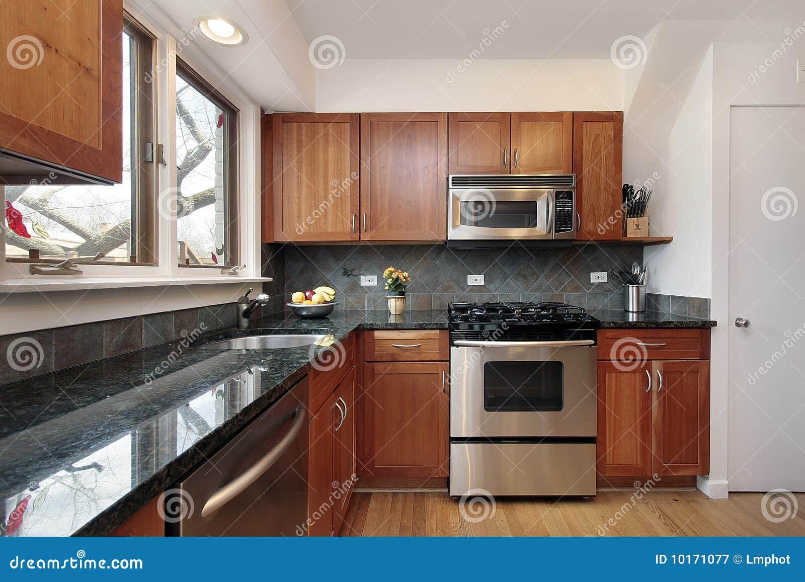 Berühmt Kirschholz Küchenschränke Bilder Bilder - Küche Set Ideen ...