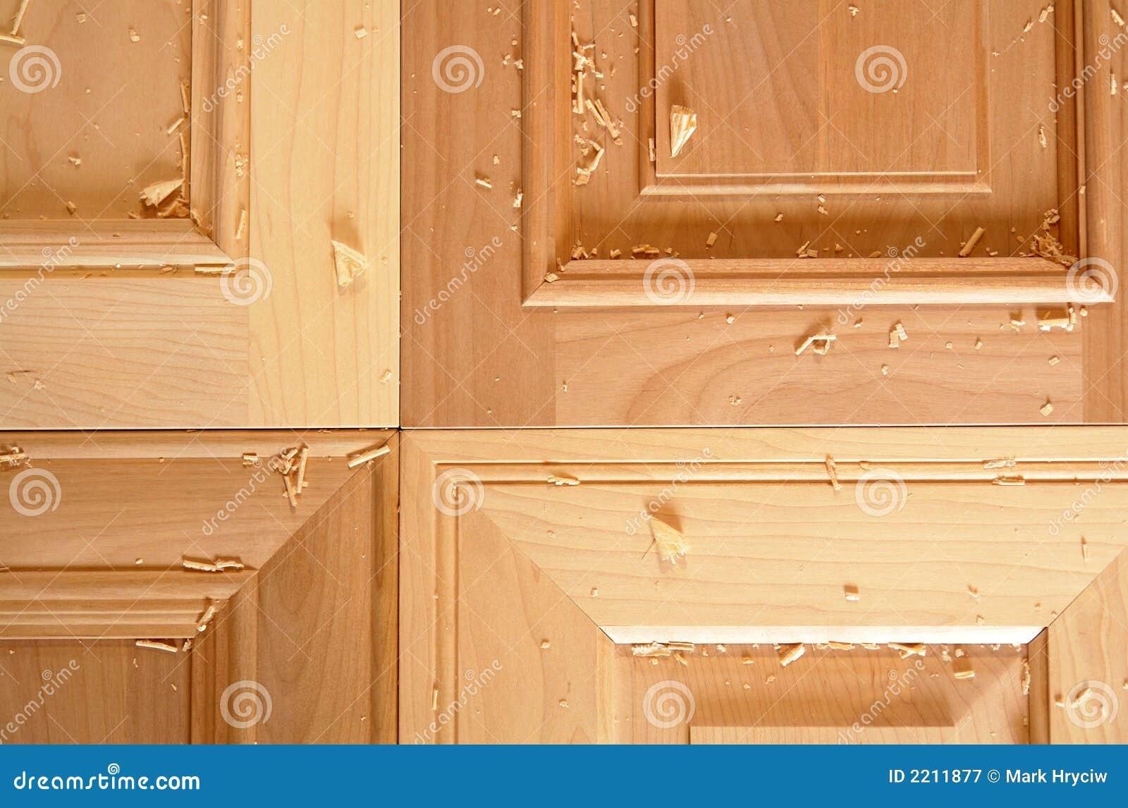 Küche-Schranktüren stockbild. Bild von flach, möbel, arten - 2211877