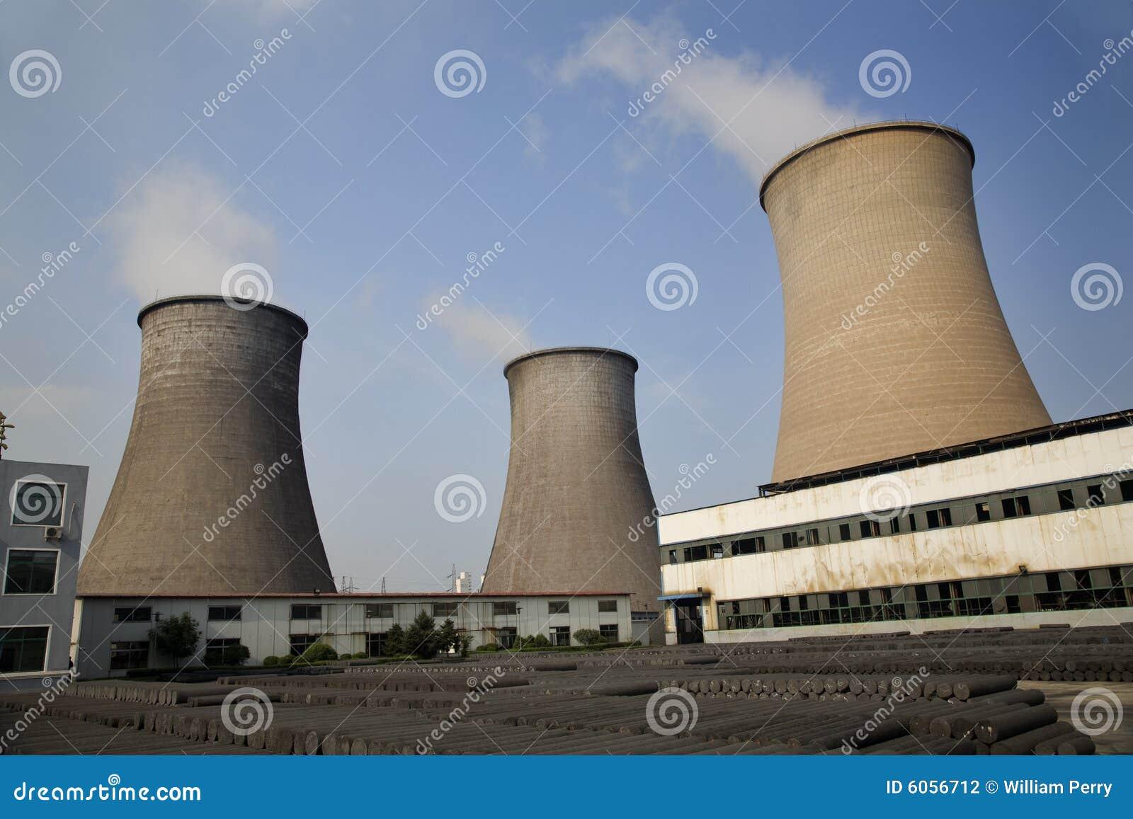 Kühlturm-Kohle abgefeuerte Elektrizitäts-Anlage China