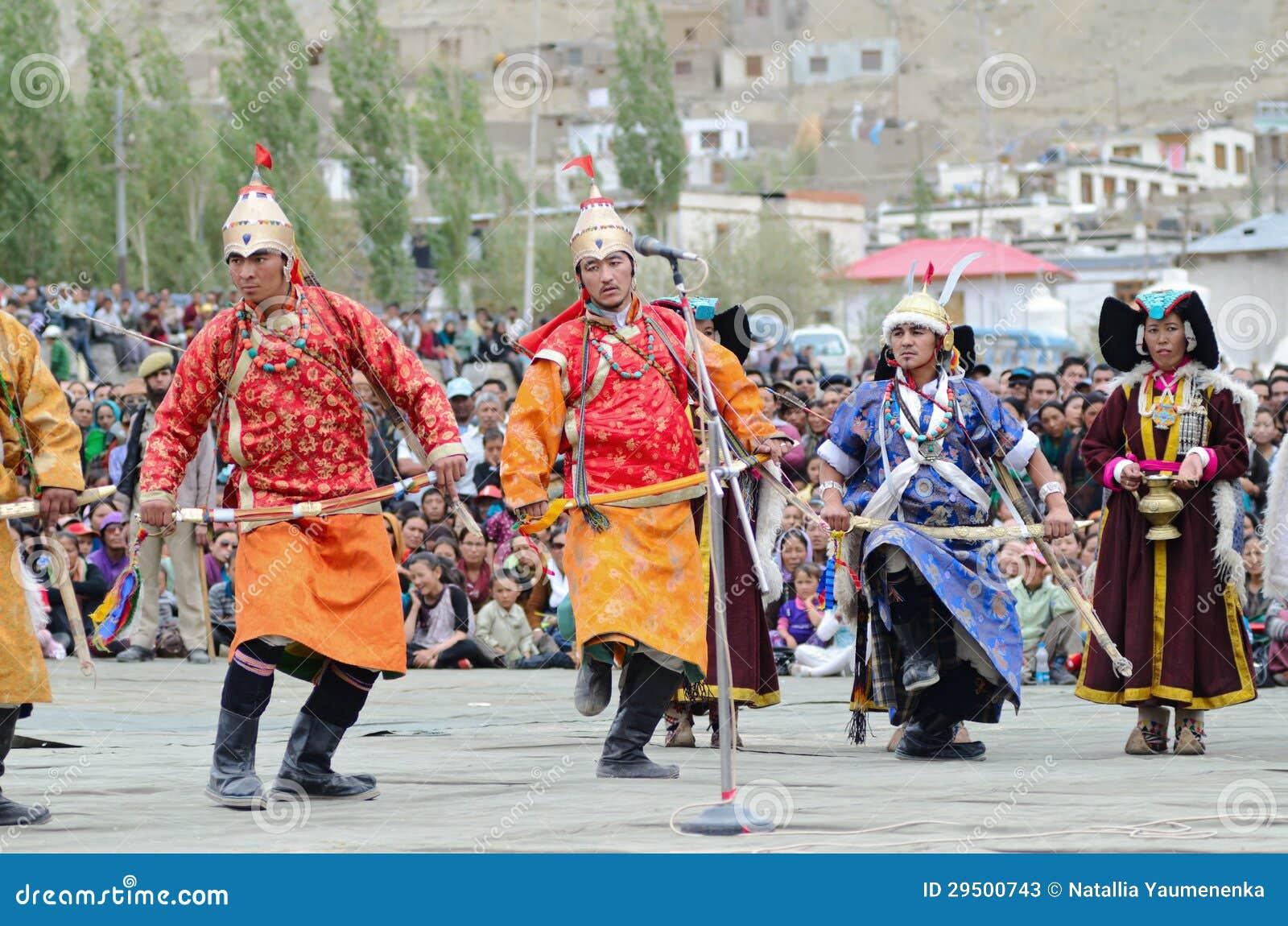 Künstler auf Festival von Ladakh Erbe