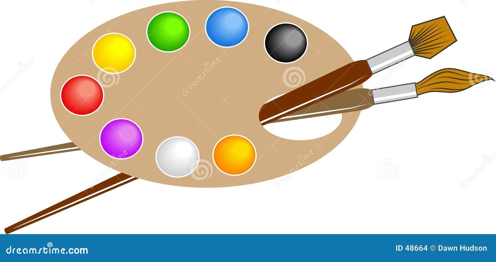 Künstler-Palette