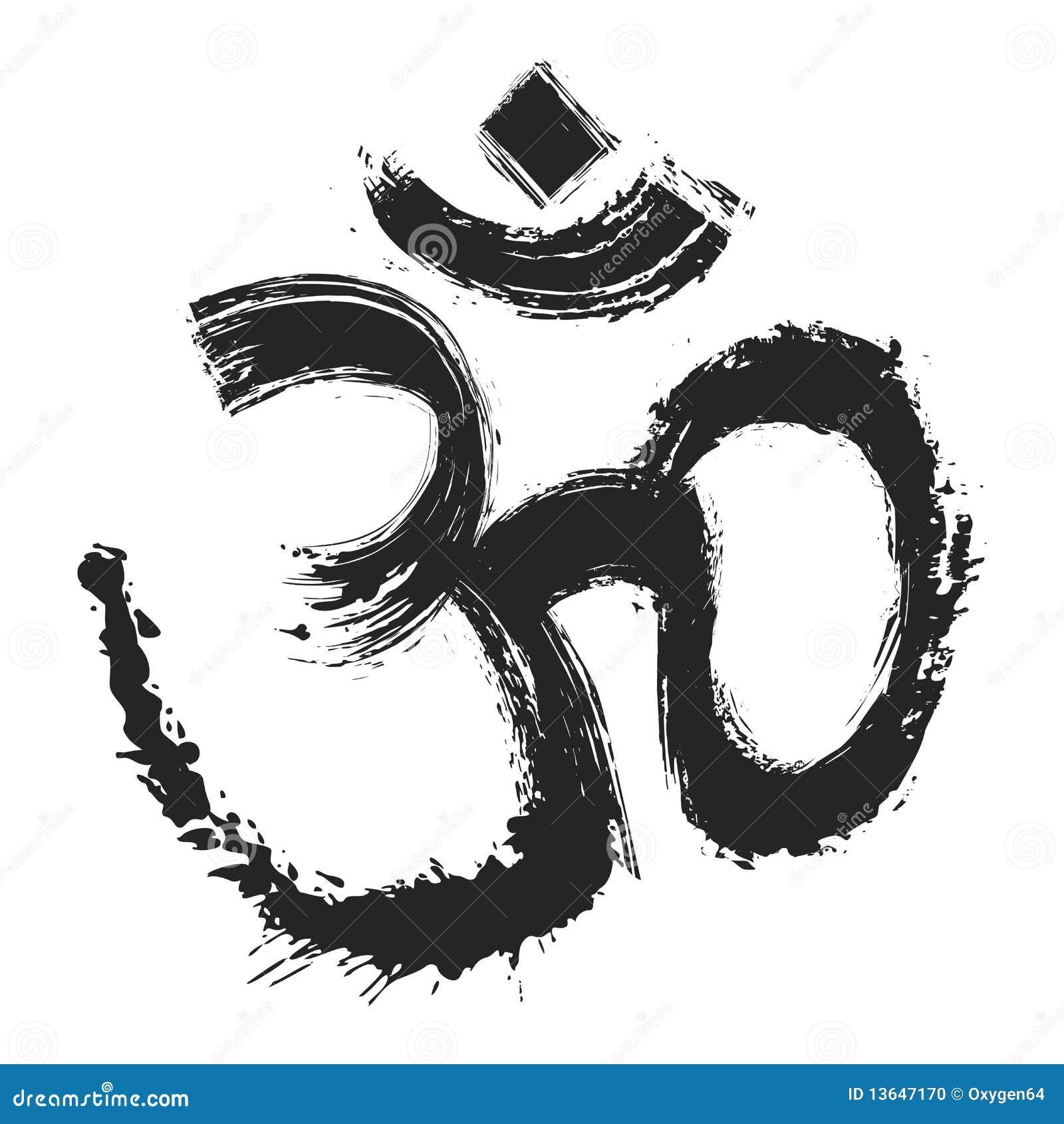 Künstlerisches OM-Symbol