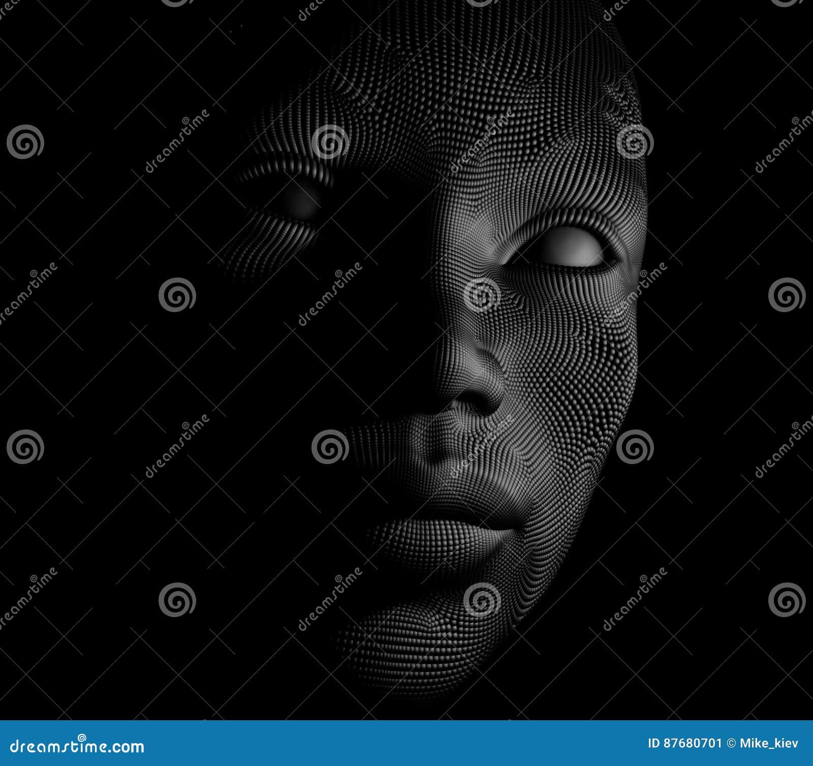 Künstliches Gesicht