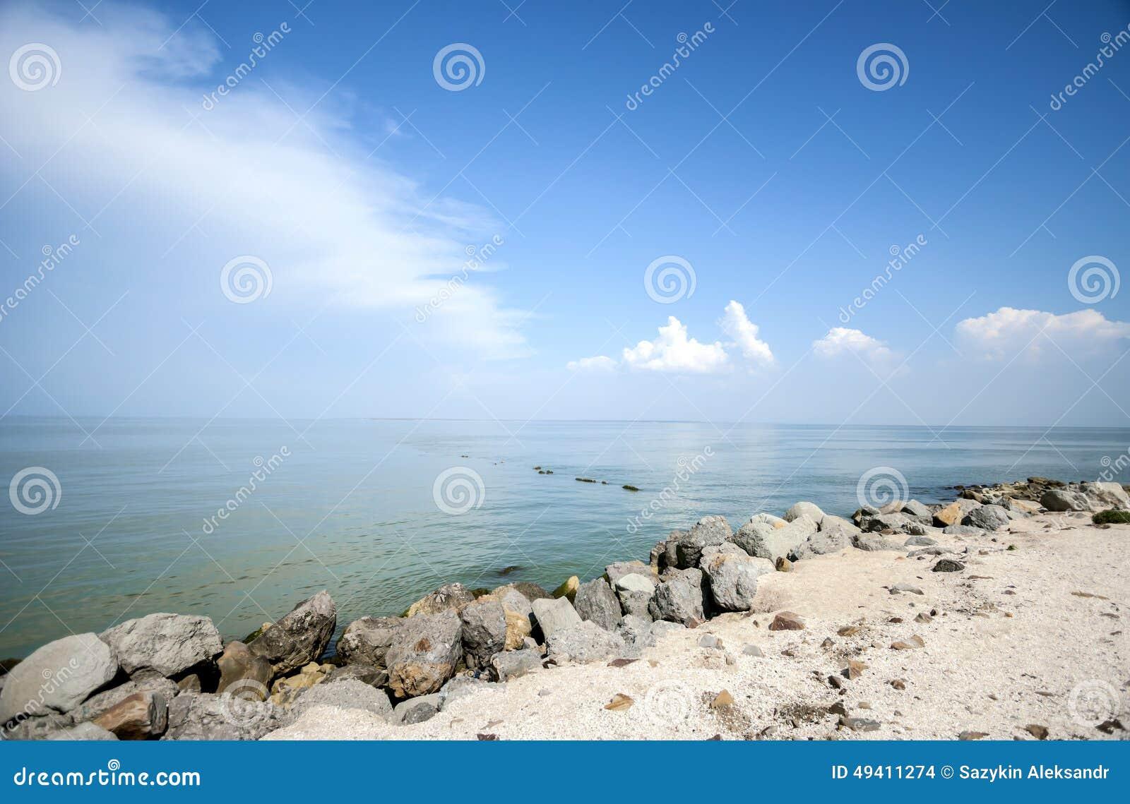 Download Küste stockfoto. Bild von strand, reflexion, sommer, tourismus - 49411274