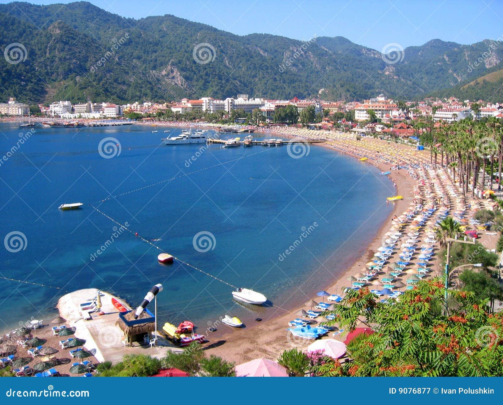Küste der Türkei-Icmeler