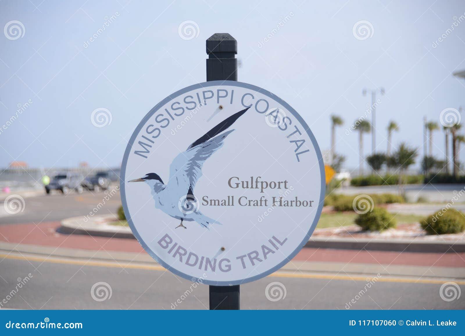 Küsten-Birding Wegweiser Mississippis