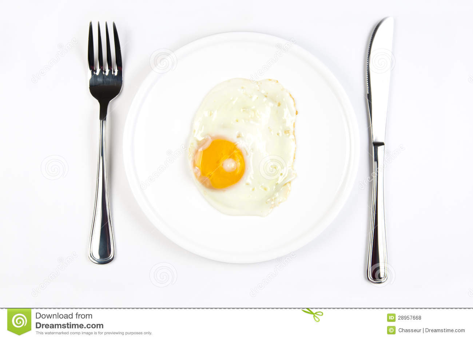 Kłusujący jajko