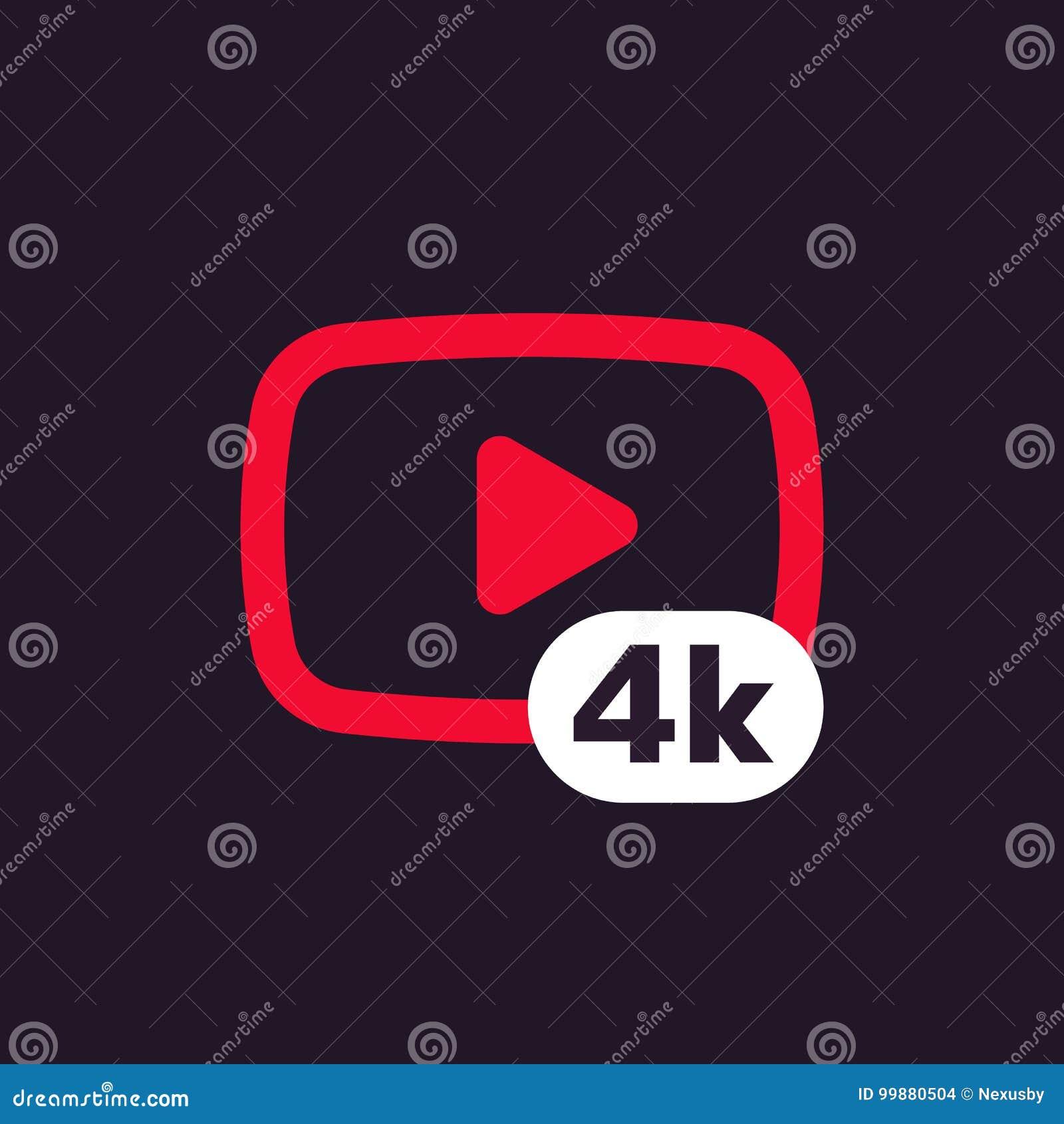 4K τηλεοπτικό εικονίδιο