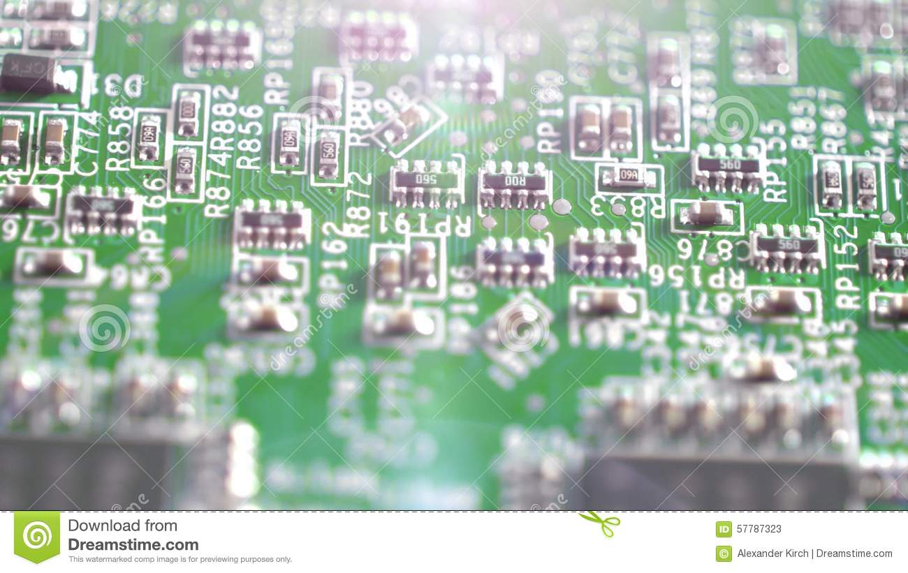 4k Circuit Board With Electric Components Stock Video Of Hd Circuitry Development 57787323