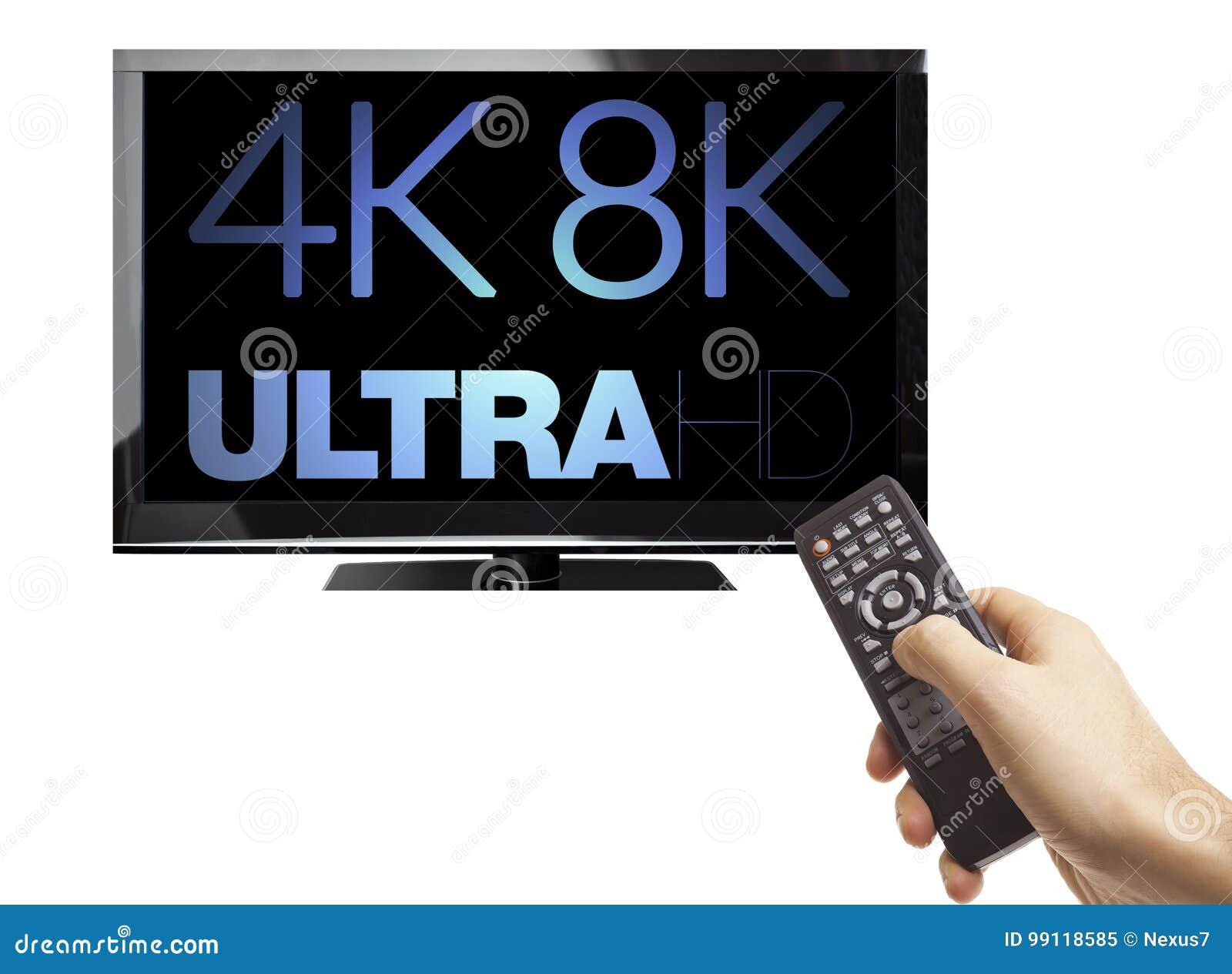 4K 8K Concept